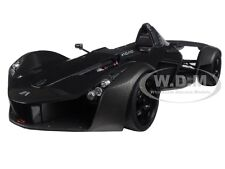 BAC MONO METALLIC BLACK 1/18 MODEL CAR BY AUTOART 18112