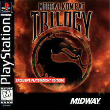 Mortal Kombat Trilogy PS1 Great Condition Complete Fast Shipping