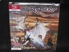RHAPSODY Power Of The Dragonflame JAPAN SHM Mini LP CD Angra Vision Divine