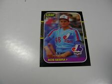 Bob Sebra 1987 Leaf (English/French) card #213