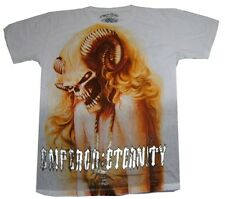 MENS ETERNITY T-SHIRT 100% COTTON LEGEND GHOST ROCK ART Sz L (IF69)