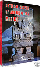 NATIONAL MUSEUM of ANTHROPOLOGY MEXICO 1989 testo in inglese