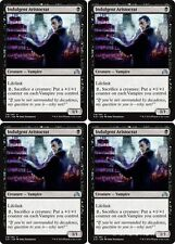 4x INDULGENT ARISTOCRAT Shadows over Innistrad MTG Black Creature — Vampire Unc