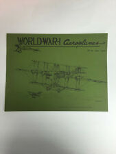 World War 1 Aeroplanes Magazine No. 56 April 1976