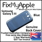Samsung Galaxy S III S3 i9300 Blue Back Rear Cover Battery Housing Door Case 3G