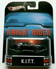 Hot Wheels EL COCHE FANTÁSTICO - KNIGHT RIDER K.I.T.T. KITT - RETRO. Limit Edit
