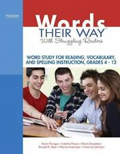 Words Their Way: Words Their Way with Struggling Readers : Word Study for...