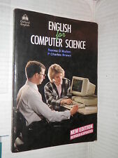 ENGLISH FOR COMPUTER SCIENCE Norma D Mullen P Charles Brown Oxford University