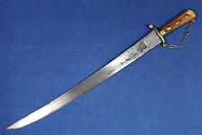 18th century blade on a 20th century European hunting hanger (sword)