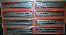 "HO IHC CORRUGATED SIDE ALGOMA CENTRAL ""SNOW TRAIN"" SET 8 CARS #47768 ALGOMA"