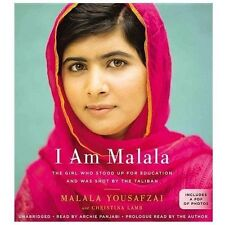 I Am Malala The Girl Who Stood up for Education  by Yousafzai Audiobook CD Audio