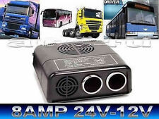 24v Truck Lorry Bus to 12v Socket 8 Amp Mini Voltage Dropper Converter Reducer