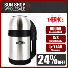 100% Genuine! THERMOS 800ml S/S Food & Drink Vacuum Flask! RRP $49.95!