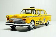 Checker 1980 Taxi New York Scale 1 43 DeAgostini Diecast model car