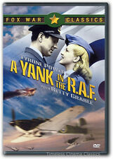 A Yank in the RAF DVD New Tyrone Power, Betty Grable, John Sutton