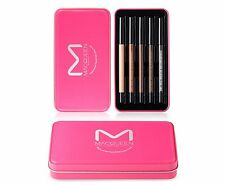 MACQUEEN Strong Waterproof Quick Dry Gel Eyeliner Makeup 5 Color Pencil 5pcs