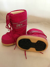 NEW MANBI Space Snow Moon Boots - Hot Pink - Size 26/28 ( UK 8.5 - 10 Child )