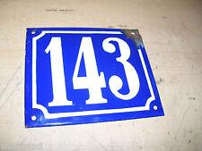 Altes Emailschild Schild Email Hausnummer 143