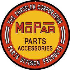The Chrysler Corporation parts MoPar Gas Station Sign