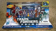 Transformers Prime - Optimus vs Megatron - FIRST EDITION - NEW - MISB