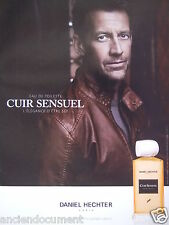 PUBLICITÉ 2013 CUIR SENSUEL DANIEL HECHTER JAMES DENTON - ADVERTISING