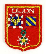 ECUSSON VILLE - REGION BLASON BRODE EMBROIDERED PATCH DIJON