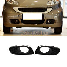 Car Auto Front Fog Light Lamp Cover Grill Mask Fit For Mercedes Smart 2008-2011