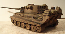 BUILT 1/35  KING TIGER 2 GERMAN PANZER WW 2 TANK PROFESSIONALLY BUILT