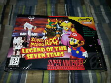 Super Mario RPG: Legend of the Seven Stars Super Nintendo SNES New Sealed RARE!
