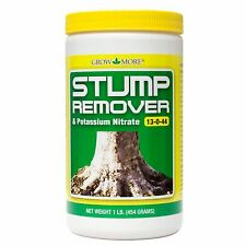 Stump Remover 1Lb Jar Grow More Stump Remover 13-0-44 Quickens The Decomposition
