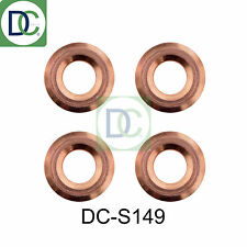 4 x Diesel Injector Washers Seals - Lexus IS II 220 d Denso 2AD-FHV
