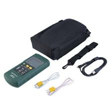 MASTECH MS6514 Dual Channel Digital Thermometer Temperature Logger Tester UR