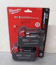 NEW Milwaukee 48-11-1822 M18 18-Volt Red Lithium XC 2 pck Ext Capacity Battery