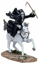 Lemax 72379 DEATH ON A PALE HORSE Spooky Town Figurine Halloween Decor Retired I
