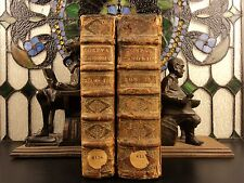 1695 Pope Gregory IX Corpus Juris Canon LAW Huge 2v SET Inquisition Decretals