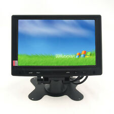 Touch Screen LCD 7 inch  Monitor Display TFT VGA AV RCA For Car DVD PC POS