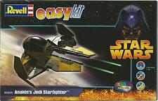 KIT REVELL  STAR WARS  ANAKIN'S JEDI STARFIGHTER EASY KIT AD INCASTRO ART 06650