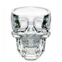 74ml Small Crystal Doomed Skull Head Vodka Shot Glass Cup Transparent