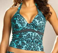 FANTASIE Women's Milan Underwire Swimwear Tankini Top 5225 Blz 34DD NEW $95