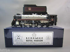 VH SCALE MODELS HO SCALE BRASS B.C.R. H-1e ROYAL HUDSON 4-6-4 STEAM ENGINE