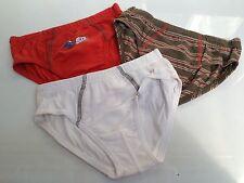 BNWOT Boys Sz 3-4 Pack of 3 Soft 100% Pure Natural Cotton Undies/Briefs Pants