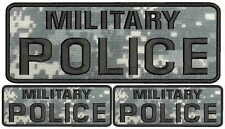 MILITARY POLICE Embroidery Patches 1 4x10 and 2 2x5 hook