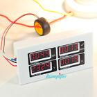 NEW AC 80-260V 100A Digital Ammeter Voltmeter watt power meter volt amp 110 220V