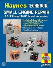 Haynes Manuals: Small Engine Repair : 5. 5 Hp Thru 20 Hp Four Stroke Engines...