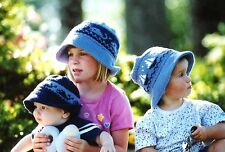 Whales & Sails - Fiber Trends Knitting Pattern CH5 Hats for Babies & Children