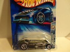2004 Hot Wheels #164 Black Rocket Oil Special w/5 Spoke Wheels China Base