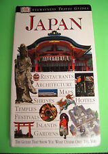 JAPAN DK Eyewitness Travel Guide 2000 Kyotu Okinawa tourist book COLOR Amazing!