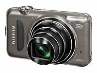 Vtg Fujifilm FinePix T Series T200 14.0 MP Digital Camera - Bundle + 8GB SD Card