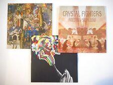 Unique Lot de 3 CD Single ▬ CRYSTAL FIGHTERS ▬ Port GRATUIT