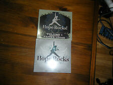 hope rocks vol 1 & 2 faiths lodge benefit new sealed cd lot soul asylum mn music